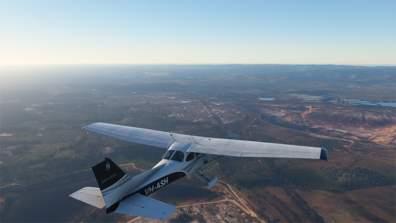 Flight Simulator 2020 from Coldstream to Latrobe Valley