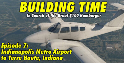 Flying the Beechcraft Duchess BE76 from Indianapolis Metro to Terre Haute